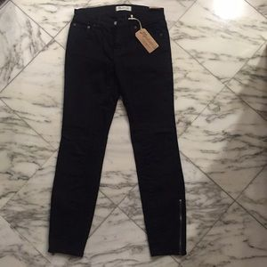 Madewell Skinny Skinny jeans, Black, Size 26